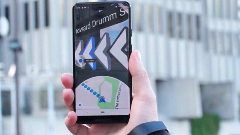 Google Maps en réalité augmentée arrive enfin sur Android !