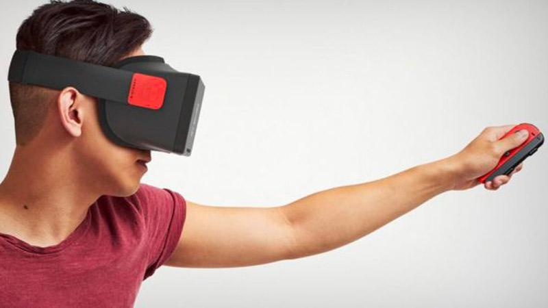 Un casque VR en préparation pour la Nintendo Switch ?