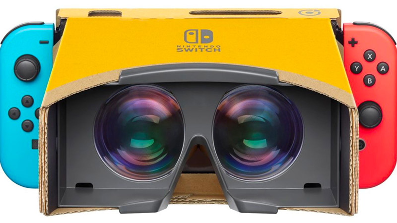 Le casque VR pour la Nintendo Switch enfin dévoilé !
